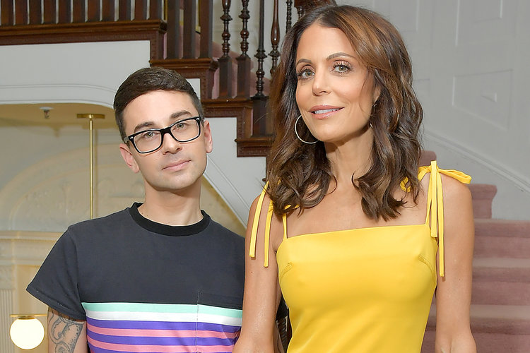 Christian Siriano and Bethenny Frankel