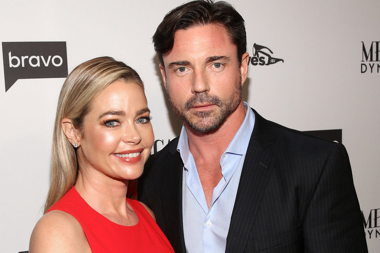 Denise Richards with husband Aaron Phypers