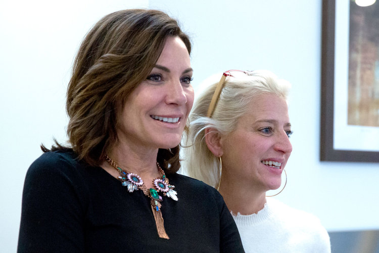 Luann de Lesseps and Dorinda Medley on The Real Housewives of New York City