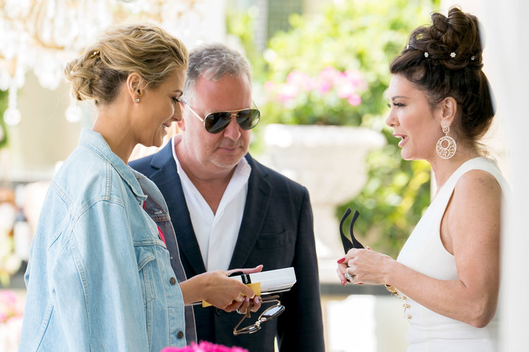 "Dorit Kemsley, Paul ""PK"" Kemsley, and Lisa Vanderpump on The Real Housewives of Beverly Hills"