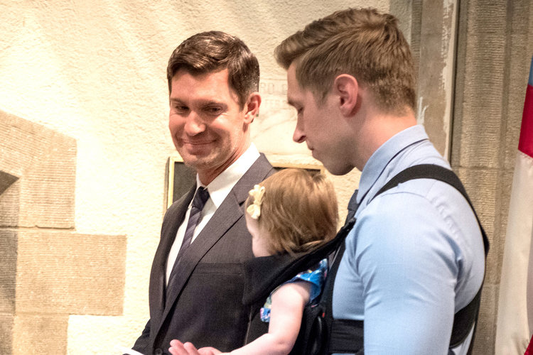 Jeff Lewis and Gage Edward with Daughter Monroe on Flipping Out