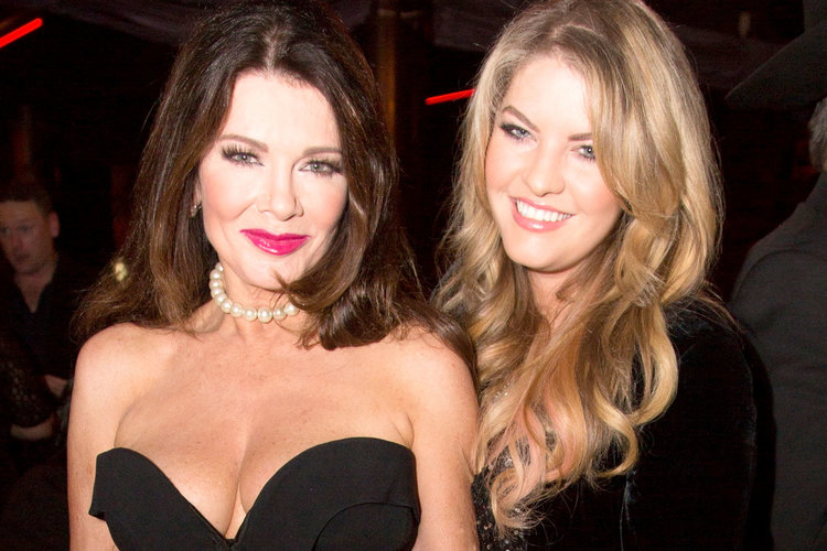 Lisa Vanderpump with Daughter Pandora Vanderpump-Sabo