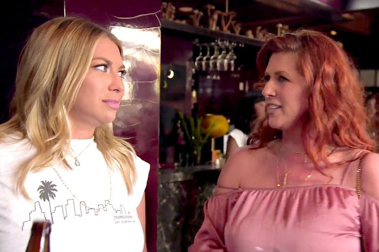 Stassi Schroeder with Mom Dayna Schroeder in Vanderpump Rules Season 7