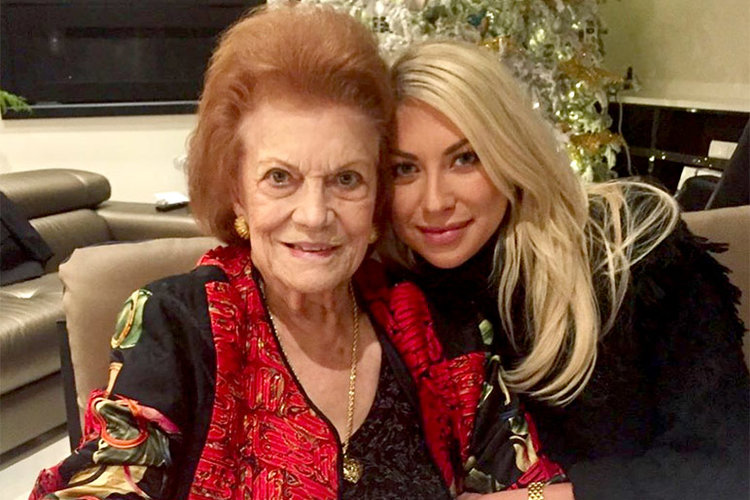 Stassi Schroeder with Grandmother Rosemary
