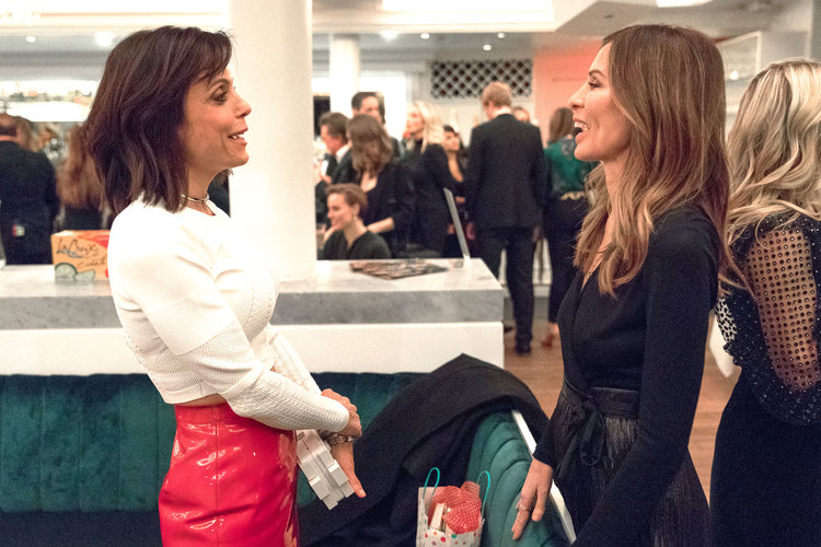 Bethenny Frankel and Carole Radziwill in The Real Housewives of New York City