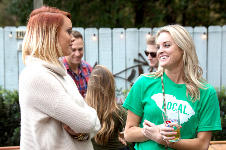 Kathryn Dennis and Danni Baird in Southern Charm
