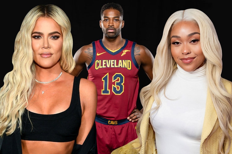 Khloe, Tristan and Jordyn