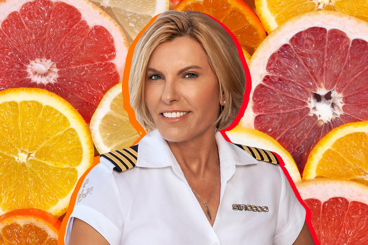 Below Deck Mediterranean Captain Sandy Yawn