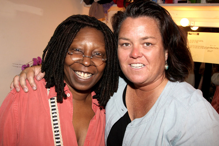 Whoopi Goldberg, Rosie O'Donnell