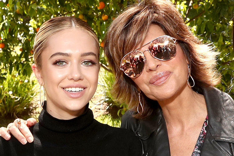 Lisa Rinna and Daughter Delilah Belle Hamlin