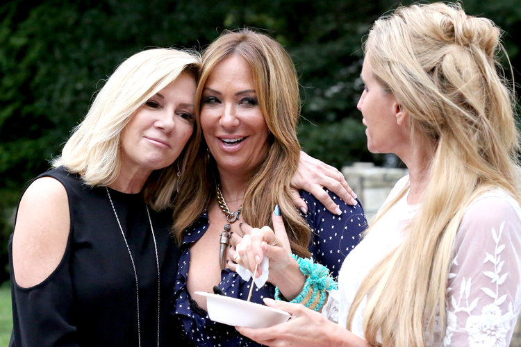 Ramona Singer, Barbara Kavovit, Sonja Morgan in The Real Housewives of New York City Season 11