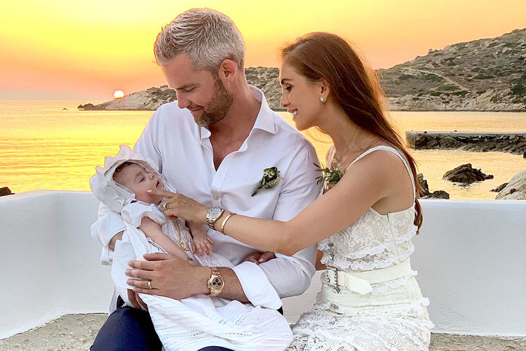 Ryan Serhant Emilia Bechrakis Daughter