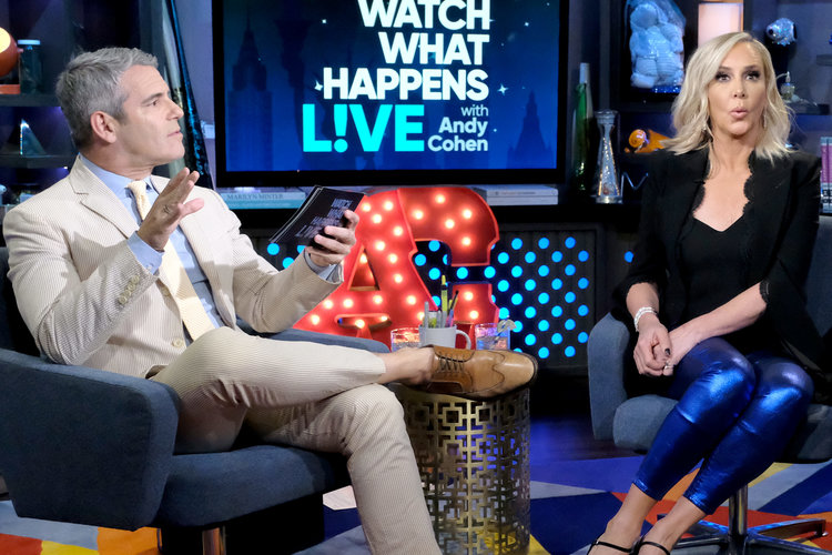 Andy Cohen and Shannon Storms Beador on Watch What Happens Live