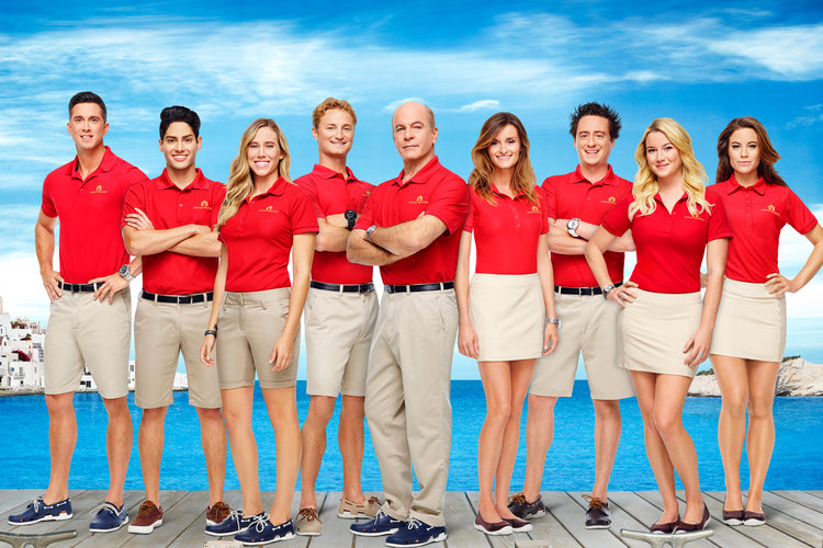 Below Deck Mediterranean Season 1 Cast