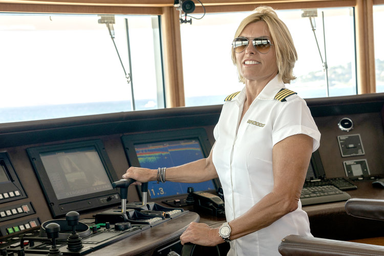 Captain Sandy Yawn in Below Deck Mediterranean