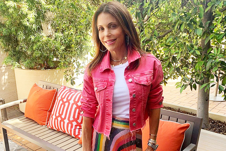 Bethenny Frankel Glam Bedroom