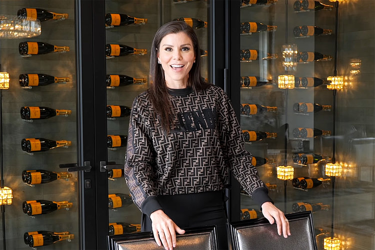 Heather Dubrow Home Champagne Wall