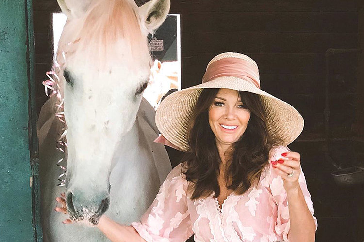 Lisa Vanderpump Home Florals