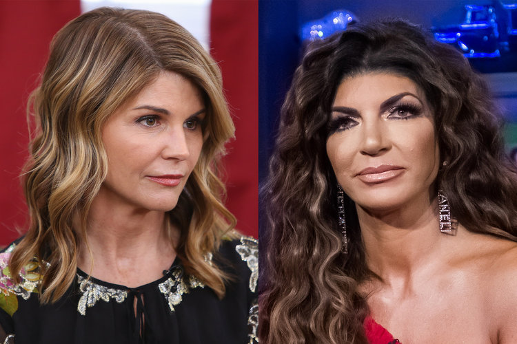 Teresa Giudice Lori Loughlin Advice