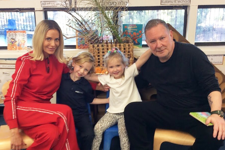 Dorit Kemsley Family Photo