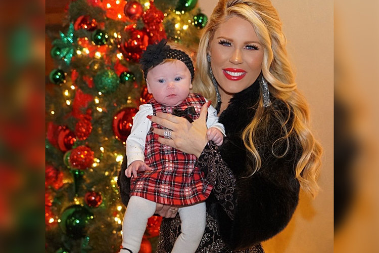 Gretchen Rossi Skylar First Christmas