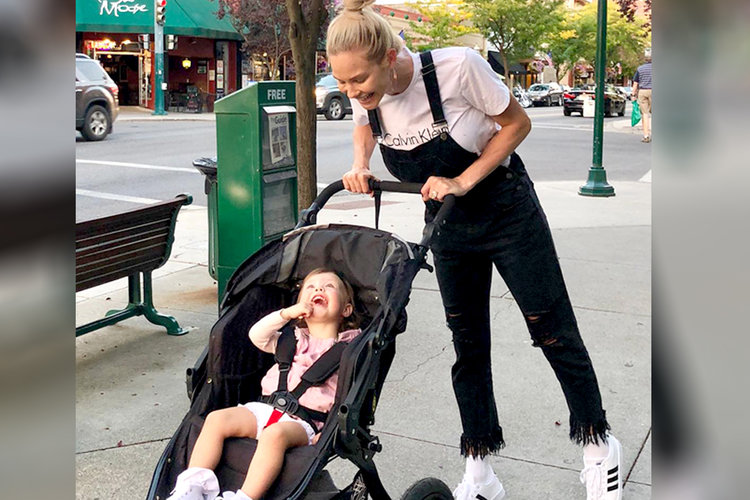 Meghan King Edmonds Aspen Daughter