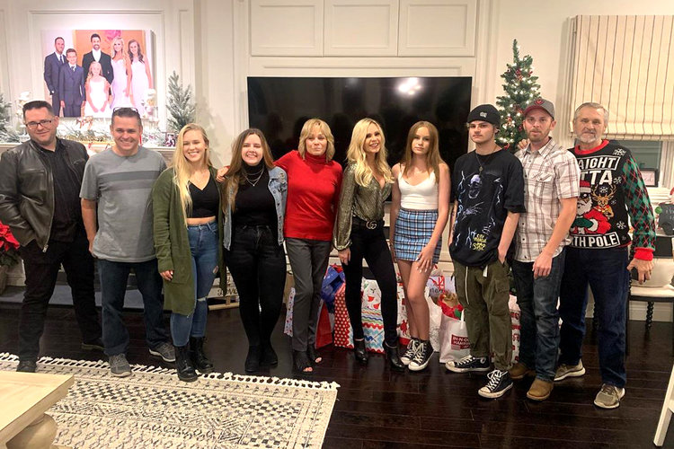 Tamra Judge Family Holidays Rhoc