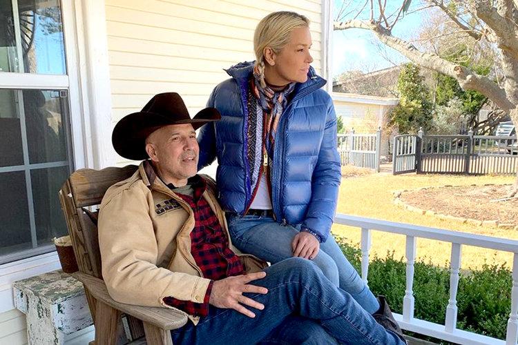 Yolanda Hadid Cowboy-Freund-Verhältnis