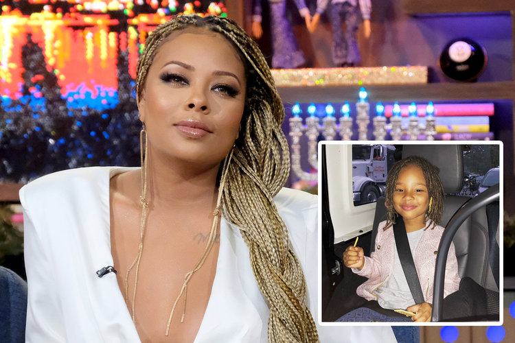 Eva Marcille Daughter Marley Rhoa
