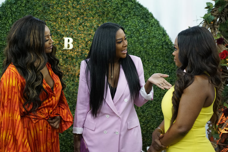 Kenya Moore Cynthia Bailey Engagement