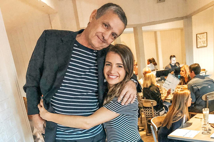 Naomie Olindo Remembers Late Father