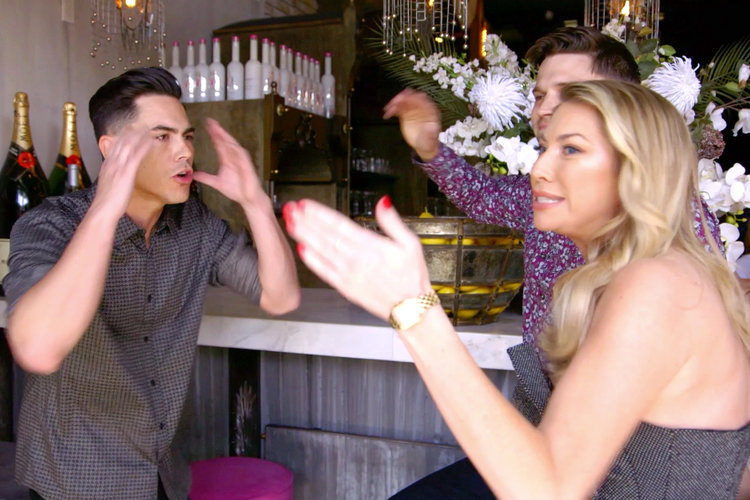 Tom Sandoval Stassi Schroeder Fight