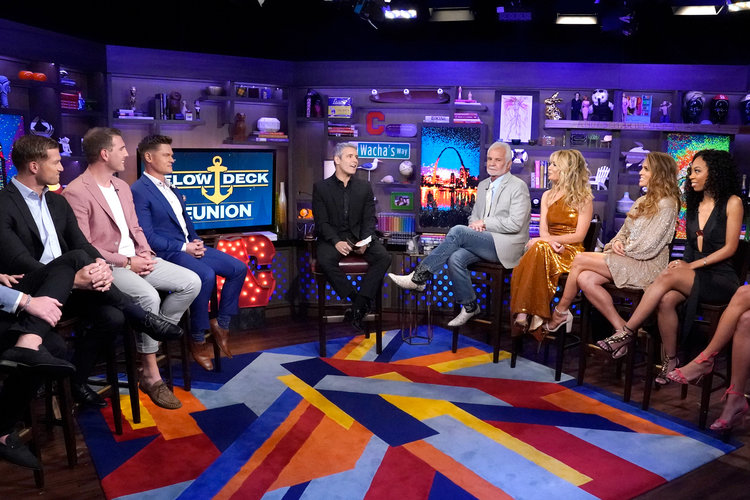 Andy Cohen Below Deck Reunion