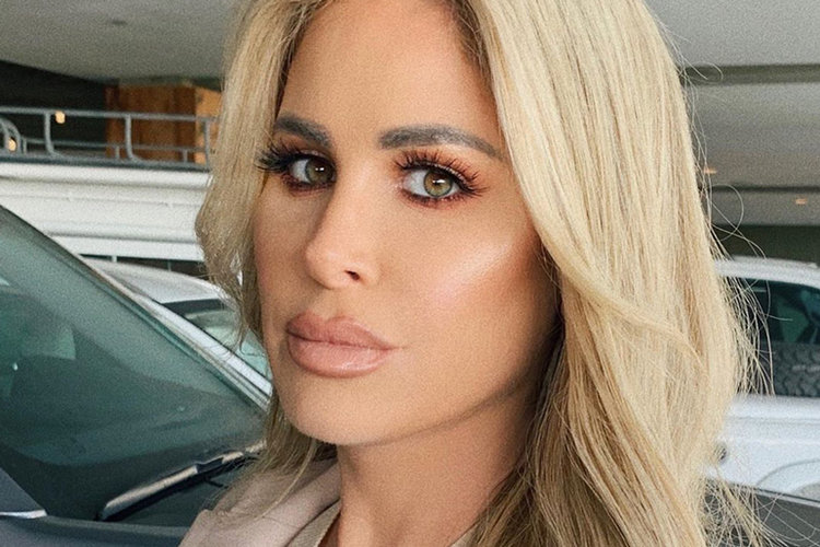 Kim Zolciak Biermann Throwback Picture