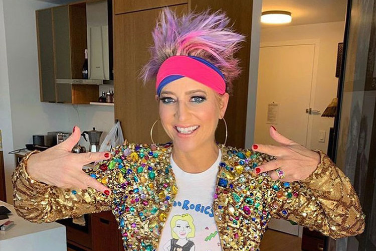 Dorinda Medley At Home Aerobics
