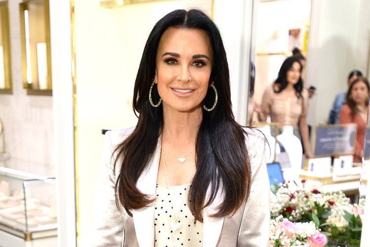 Kyle Richards Self Quarantine Rhobh