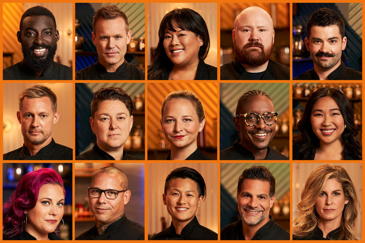 Top Chef Season 17 All Stars Cast