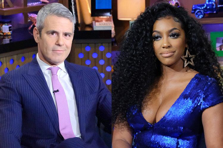 Andy Cohen Porsha Williams Rhoa