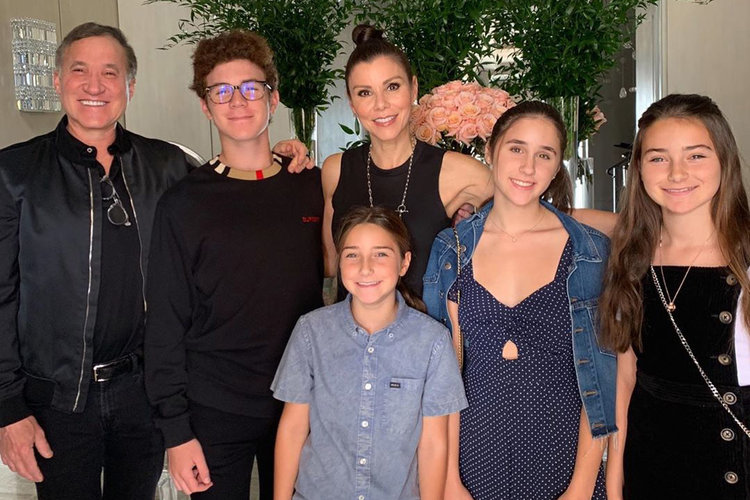 Heather Dubrow Family