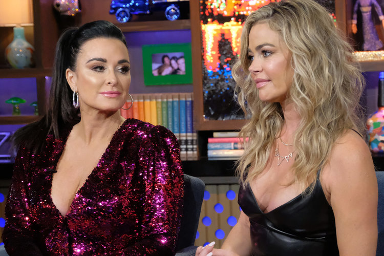 Kyle Denise Richards Drama Rhobh