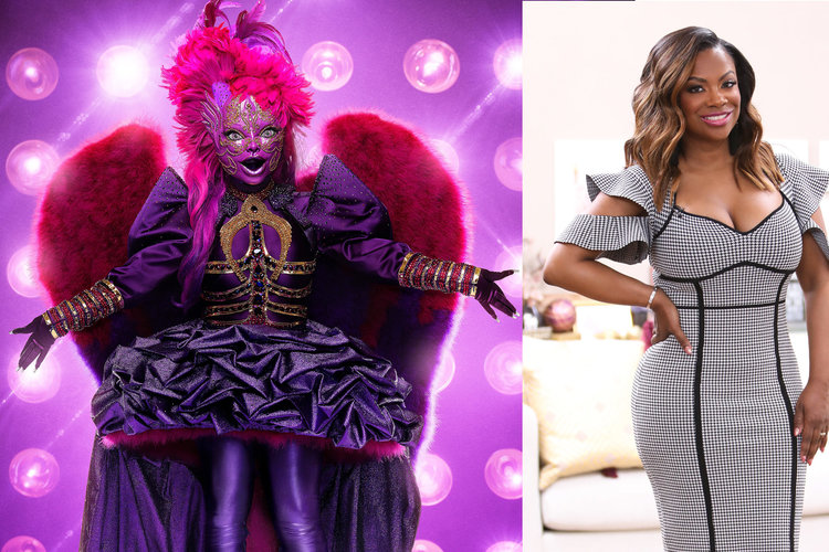 Night Angel Kandi Burruss Masked Singer