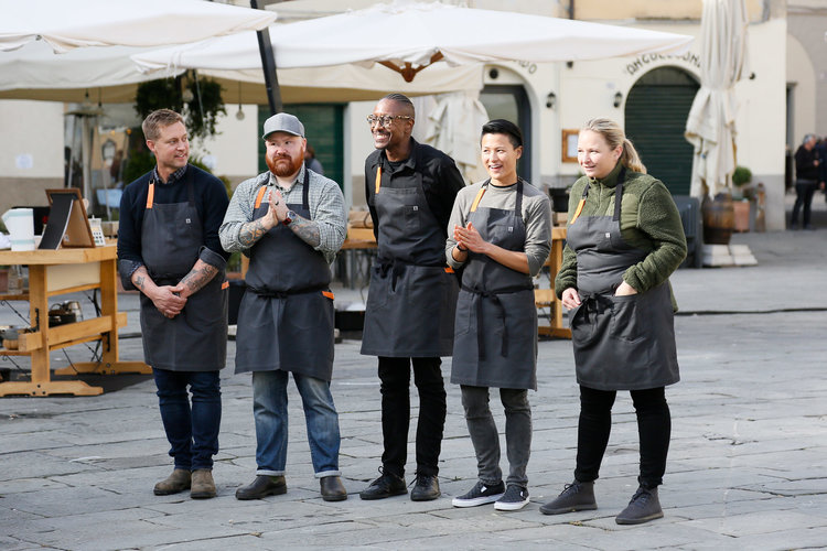 Top Chef Shoots In Italy