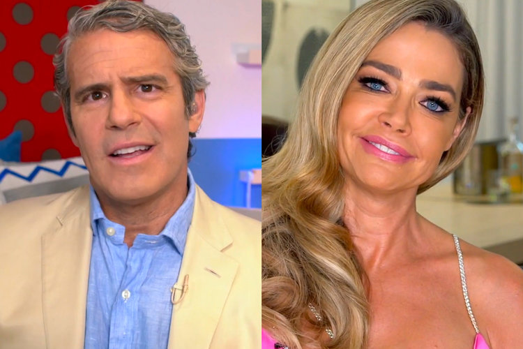 Denise Richards Quits Rhobh Andy Cohen