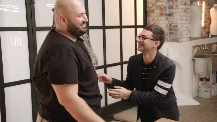 "Christian Siriano Is Nervous This Look Reads Too ""Old Lady"""