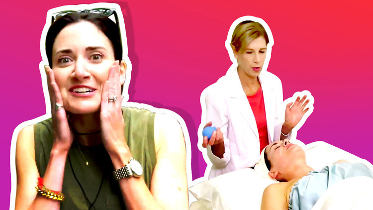 Trying $150 Facial Cupping - The Anti-Aging Treatment Celebrities Love | Treat Yourself | Bravo