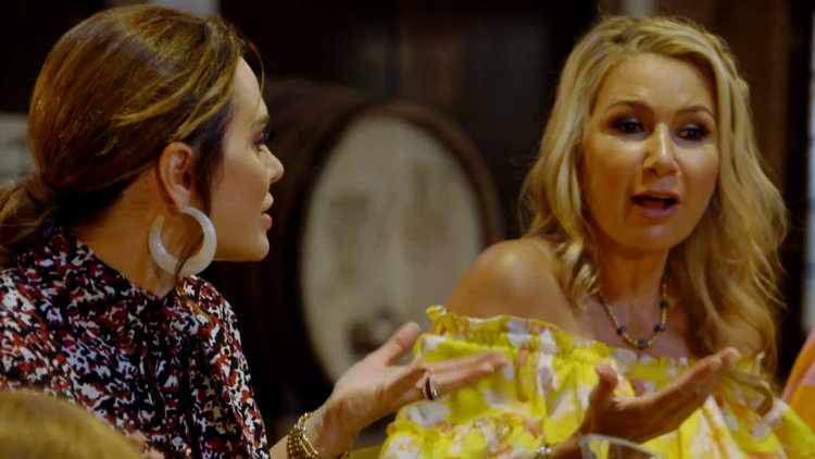 The Real Housewives of Dallas Go Wine Tasting