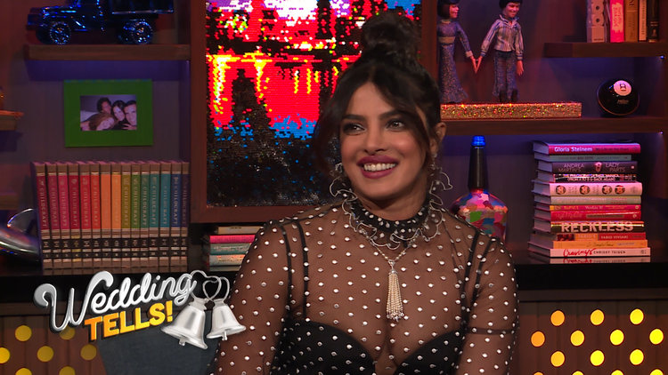 Andy Cohen Grills Priyanka Chopra-Jonas on Her Wedding