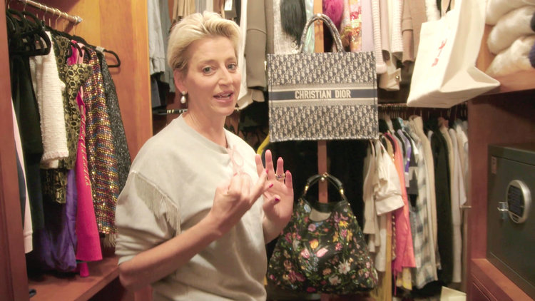 Dorinda Medley's Berkshires Closet Is Chock-Full of Designer Goods