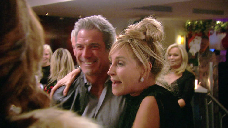 Sonja Morgan Is Overjoyed to See Mario Singer Again