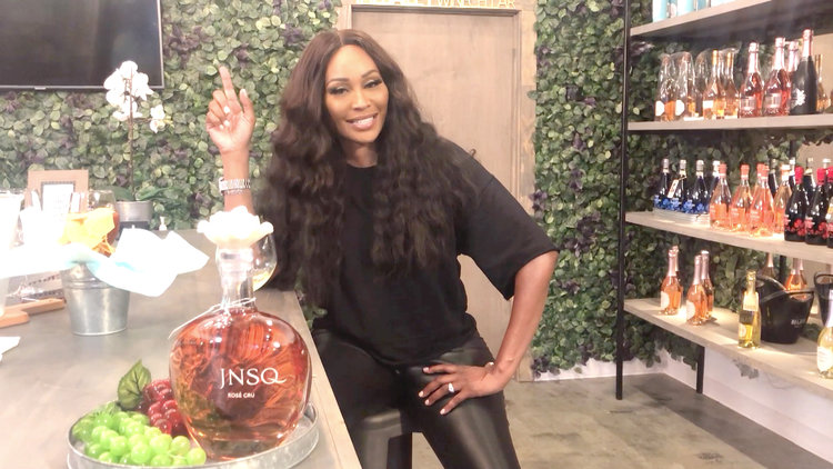 Cynthia Bailey Gives You a Sneak Peek at Her New Wine Bar